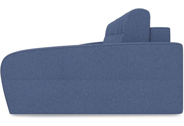 Диван угловой правый «Аспен Slim Т2» (Levis 78 (рогожка) Темно-синий) - фото 4