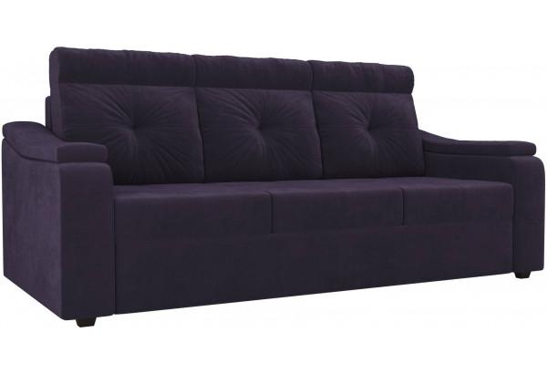 Диван прямой Джастин Фиолетовый (Велюр) - фото 1