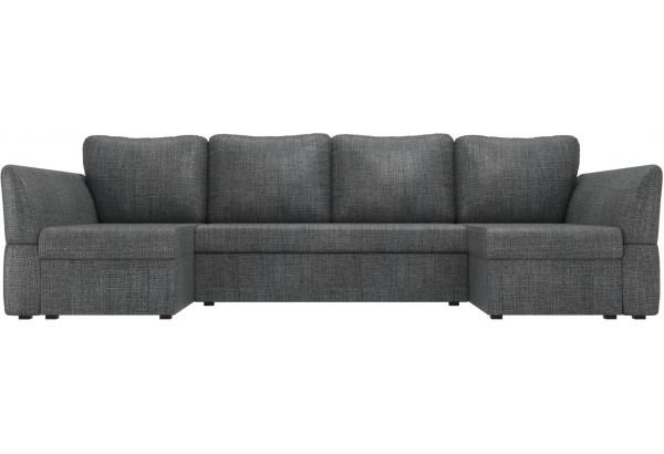 П-образный диван Гесен Серый (Рогожка) - фото 2