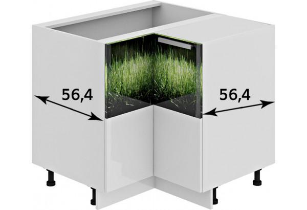 Шкаф напольный угловой с углом 90° ФЭНТЕЗИ (Грасс) - фото 3