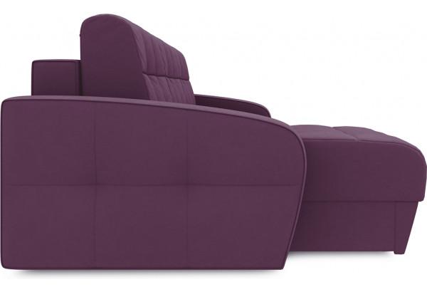 Диван угловой левый «Аспен Т1» (Kolibri Violet (велюр) фиолетовый) - фото 5