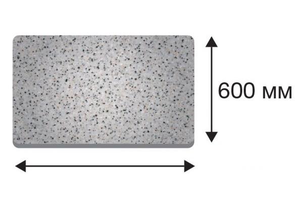 Крышка стола в размер прямая от 1510 до 3000 (Дуб сонома трюфель, 40х600х2400) - фото 1