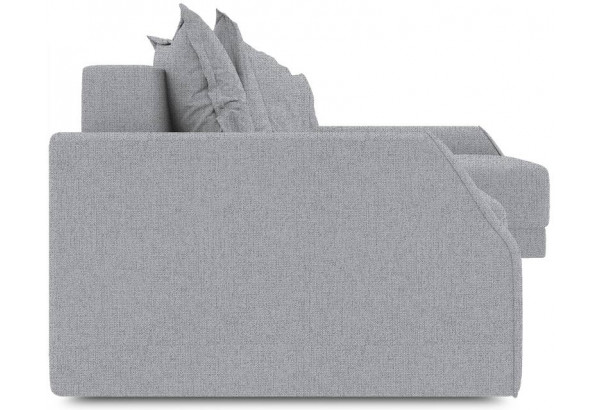 Диван угловой правый «Люксор Slim Т2» (Levis 85 (рогожка) Темно-серый) - фото 3