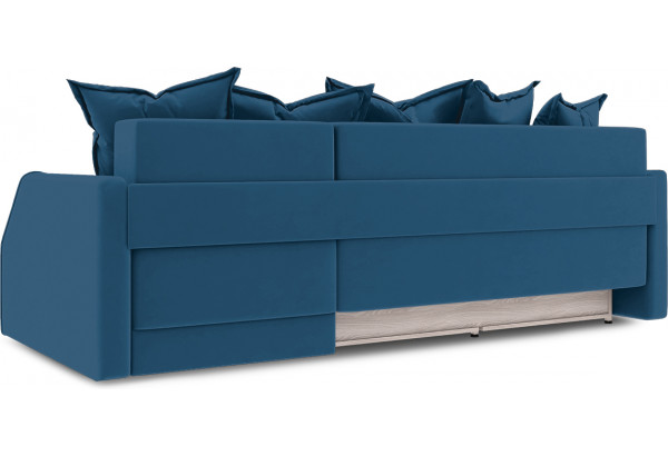 Диван угловой правый «Люксор Slim Т1» (Beauty 07 (велюр) синий) - фото 4