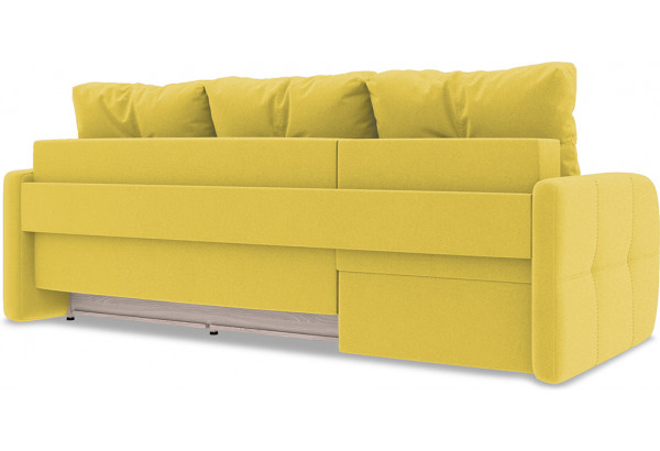 Диван угловой левый «Томас Slim Т1» Neo 08 (рогожка) желтый - фото 4