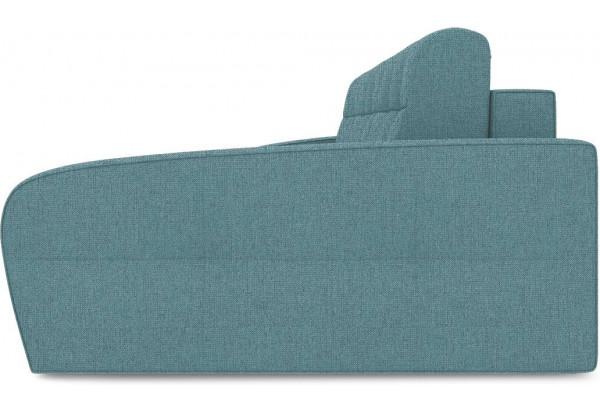 Диван угловой правый «Аспен Т2» (Levis 74 (рогожка) Изумрудный) - фото 4