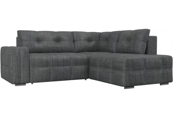 Угловой диван Леос Серый (Рогожка) - фото 1