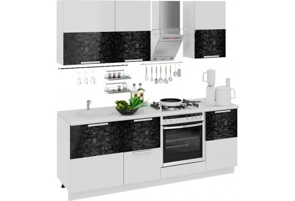 Кухонный гарнитур длиной - 210 см (со шкафом НБ) Фэнтези (Лайнс) - фото 1