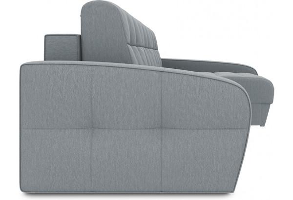 Диван угловой правый «Аспен Т2» (Kolibri Silver (велюр) серый) - фото 3