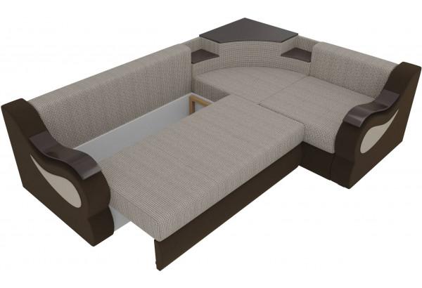 Угловой диван Митчелл Корфу 02/коричневый (Корфу/Микровельвет) - фото 6