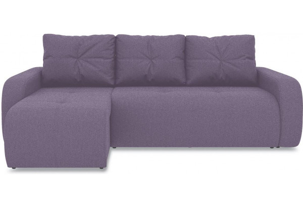 Диван угловой левый «Томас Т1» (Neo 09 (рогожка) фиолетовый) - фото 2