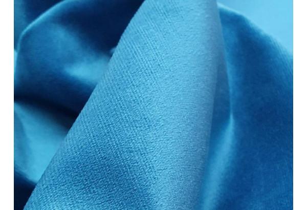 Кухонный угловой диван Лотос голубой/бежевый (Велюр) - фото 6