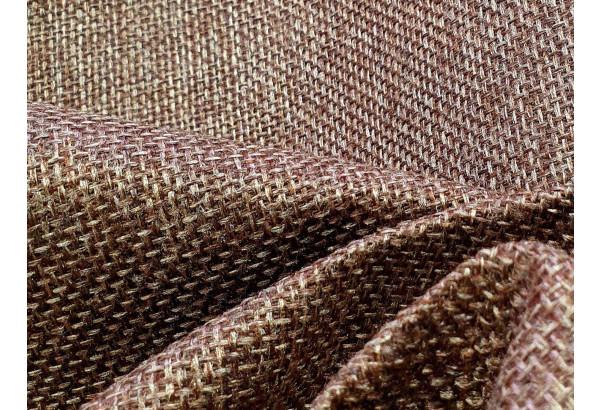 Угловой диван Сатурн Коричневый/Бежевый (Рогожка/Экокожа) - фото 9