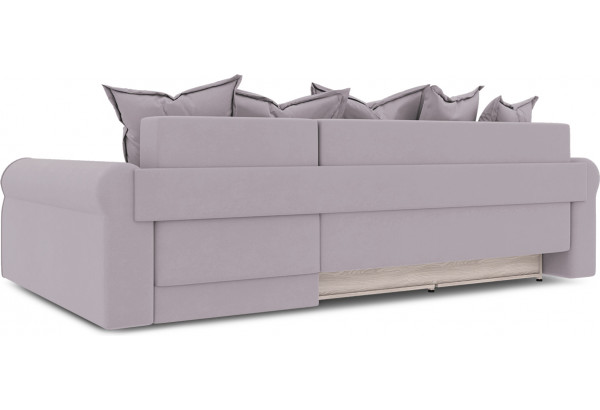 Диван угловой правый «Люксор Т2» (Poseidon Pale Lavender (иск.замша) бледно-лавандовый) - фото 4