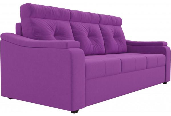 Диван прямой Джастин Фиолетовый (Микровельвет) - фото 3