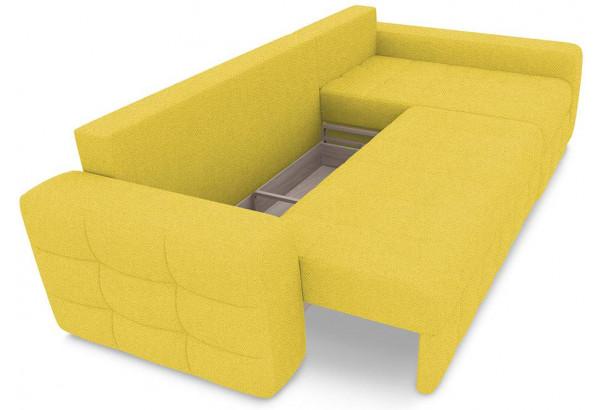 Диван угловой правый «Райс Т2» (Neo 08 (рогожка) желтый) - фото 6