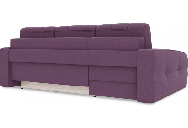 Диван угловой левый «Аспен Т2» (Kolibri Violet (велюр) фиолетовый) - фото 4