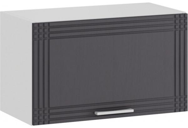 Шкаф навесной c одной откидной дверью «Ольга» (Белый/Графит) - фото 1