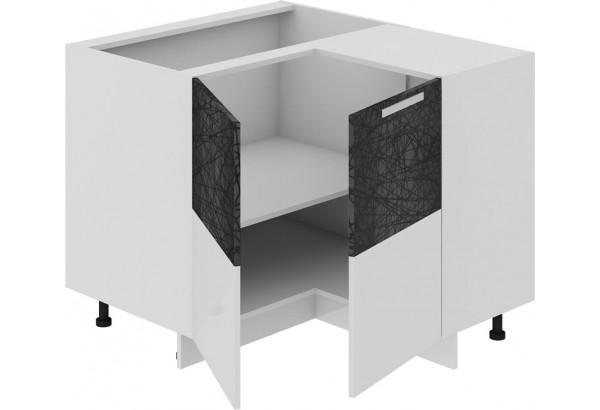 Шкаф напольный нестандартный угловой с углом 90° Фэнтези (Лайнс) - фото 1