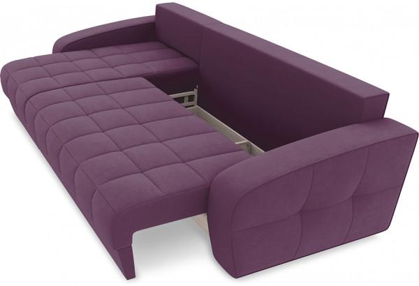 Диван угловой левый «Аспен Т1» (Kolibri Violet (велюр) фиолетовый) - фото 6