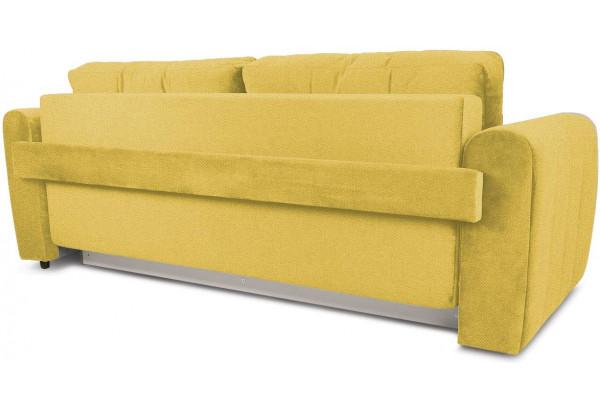 Диван «Хьюго» (Neo 08 (рогожка) желтый кант Neo 02 (рогожка) бежевый) - фото 4