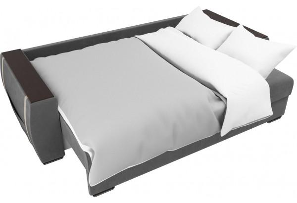 Прямой диван Брион Серый (Велюр) - фото 7