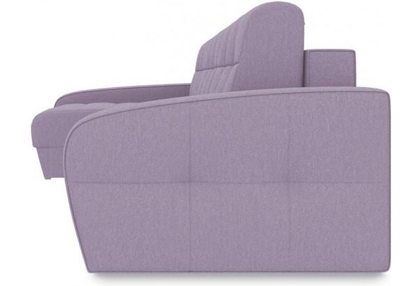 Диван угловой левый «Аспен Slim Т2» (Neo 09 (рогожка) фиолетовый) - фото 3