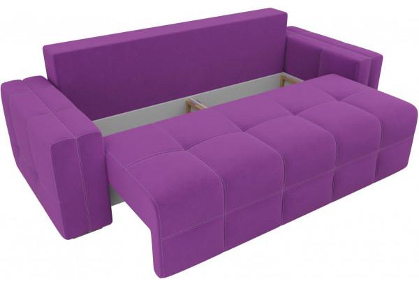 Диван прямой Леос Фиолетовый (Микровельвет) - фото 5