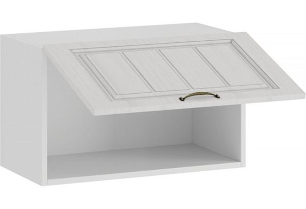 Шкаф навесной c одной откидной дверью «Лина» (Белый/Белый) - фото 2