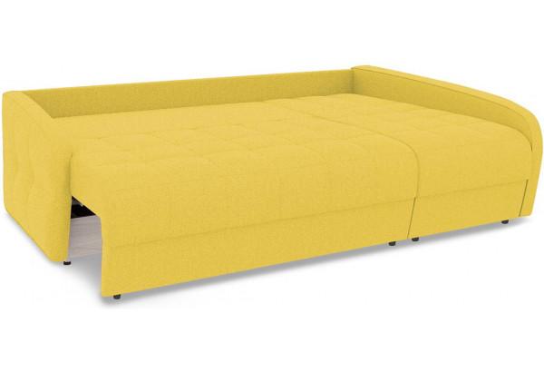 Диван угловой правый «Аспен Slim Т2» (Neo 08 (рогожка) желтый) - фото 7