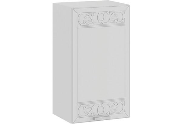 Шкаф навесной c одной дверью «Долорес» (Белый/Сноу) - фото 1