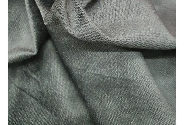 Кухонный прямой диван Кармен Фиолетовый/Черный (Микровельвет) - фото 5