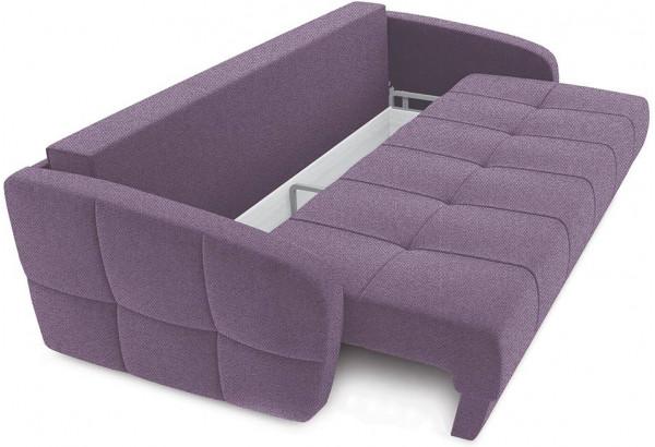 Диван «Аспен Slim» Neo 09 (рогожка) фиолетовый - фото 5