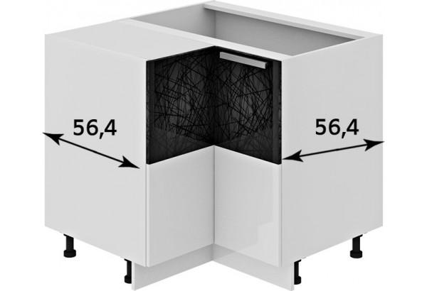 Шкаф напольный угловой с углом 90° Фэнтези (Лайнс) - фото 2