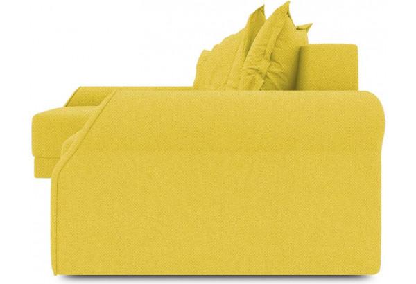 Диван угловой левый «Люксор Т2» (Neo 08 (рогожка) желтый) - фото 3