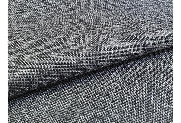 Прямой диван Форсайт Серый/черный (Рогожка/Экокожа) - фото 8