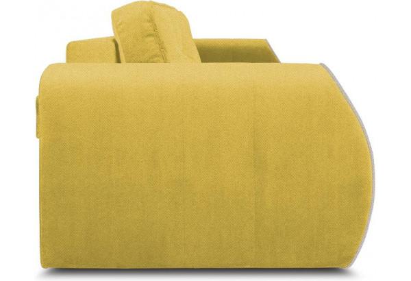 Диван «Хьюго» (Neo 08 (рогожка) желтый кант Neo 02 (рогожка) бежевый) - фото 3