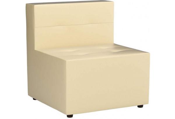 Модульный диван Домино Бежевый (Экокожа) - фото 1