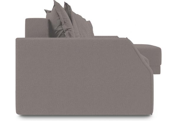 Диван угловой правый «Люксор Slim Т1» (Neo 12 (рогожка) коричневый) - фото 3