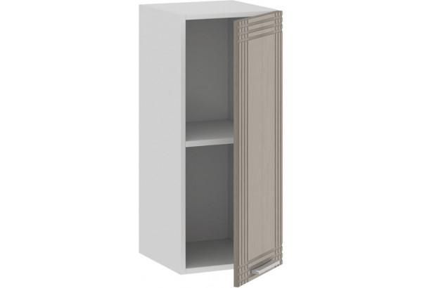 Шкаф навесной c одной дверью «Ольга» (Белый/Кремовый) - фото 2