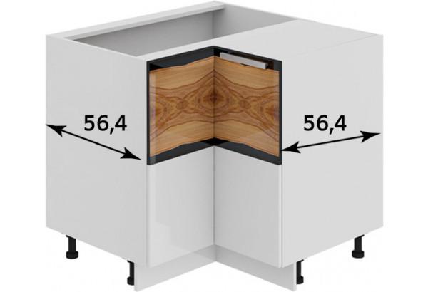 Шкаф напольный угловой с углом 90° Фэнтези (Вуд) - фото 2