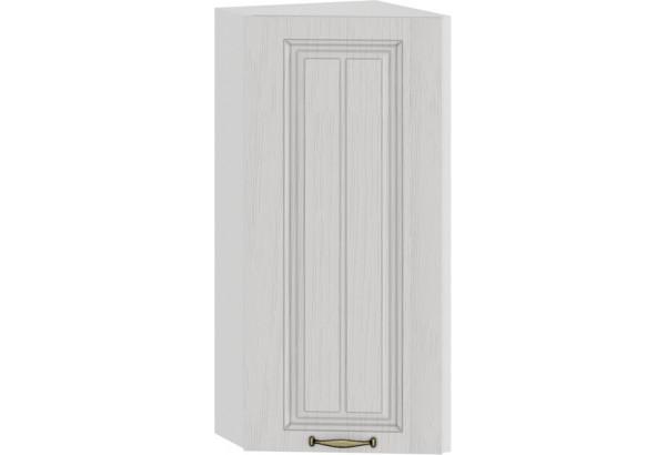 Шкаф навесной торцевой «Лина» (Белый/Белый) - фото 1