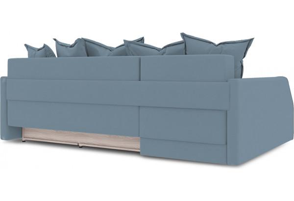 Диван угловой левый «Люксор Slim Т2» (Poseidon Ocean (иск.замша) серо-голубой) - фото 4