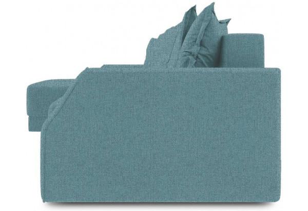 Диван угловой левый «Люксор Slim Т1» (Levis 74 (рогожка) Изумрудный) - фото 3