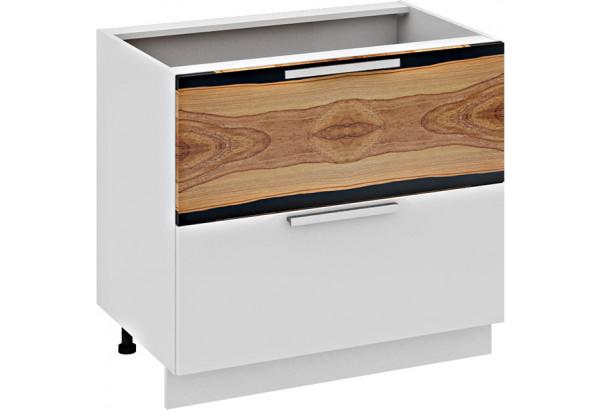 Шкаф напольный с 2-мя ящиками Фэнтези (Вуд) - фото 2