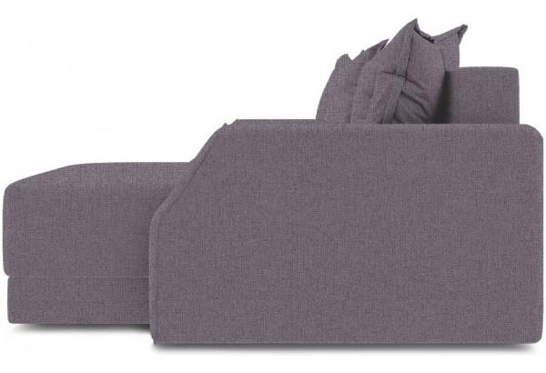 Диван угловой правый «Люксор Slim Т1» (Levis 68 (рогожка) Темно - фиолетовый) - фото 4