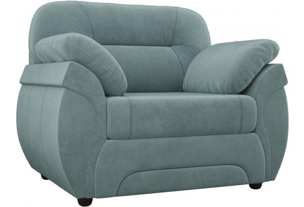 Кресло Бруклин бирюзовый (Велюр) - фото 1