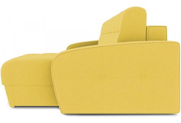 Диван угловой правый «Аспен Slim Т1» (Neo 08 (рогожка) желтый) - фото 4