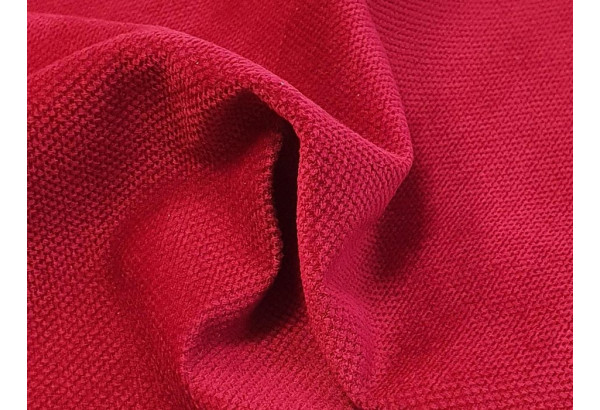 П-образный Диван Амир красный/Черный (Микровельвет) - фото 6