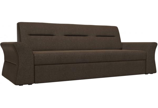 Прямой диван Клайд Коричневый (Рогожка) - фото 1